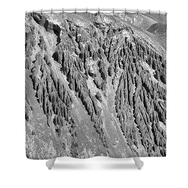 Sands Of Time Monochrome Art By Kaylyn Franks  Shower Curtain