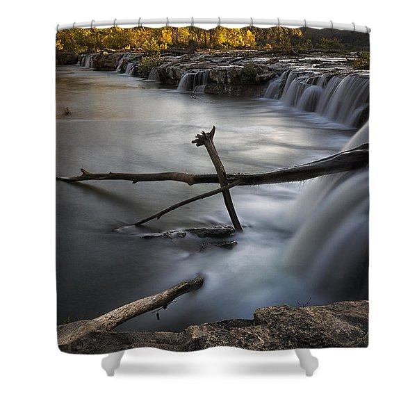 Sandstone Falls Shower Curtain