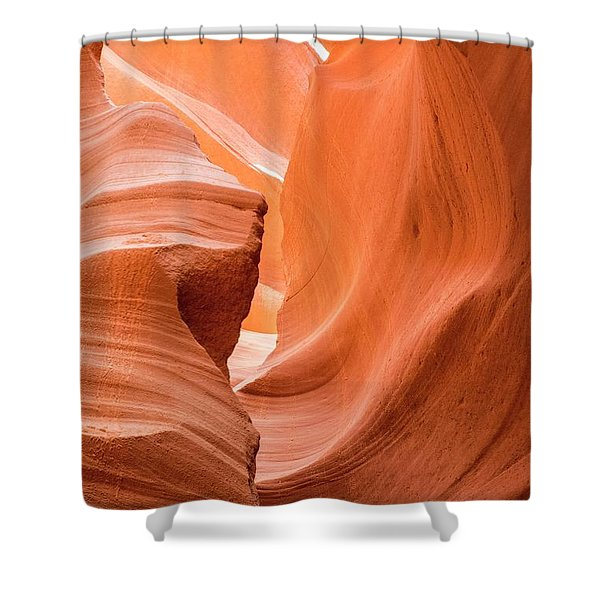 Sandstone Swirls  Shower Curtain