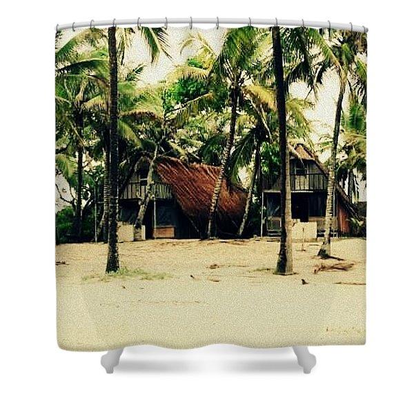 Sandy  Beaches Shower Curtain