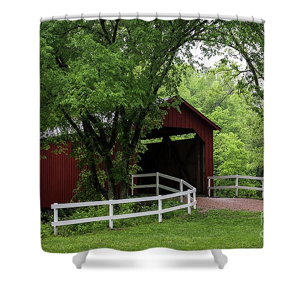 Shower Curtain featuring the photograph Sandy Creek by Andrea Silies