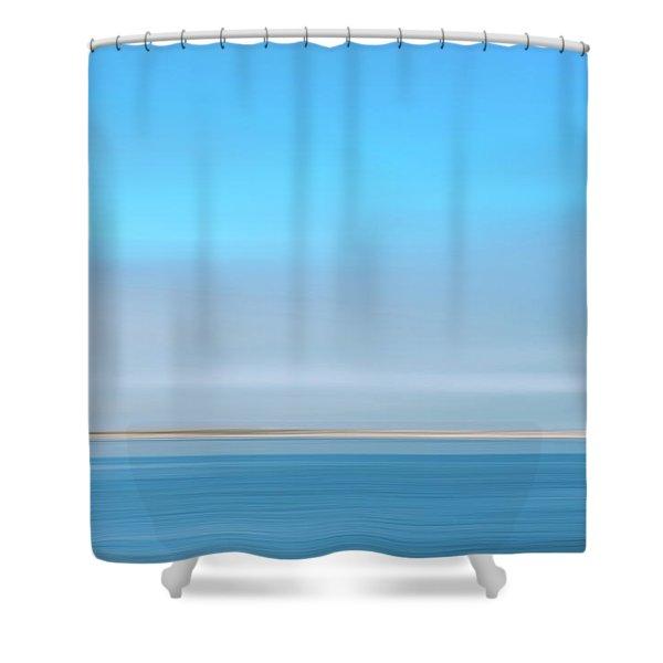 Sandy Neck 3 Shower Curtain