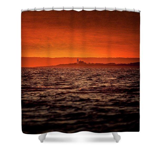 Sandy Neck Light Shower Curtain