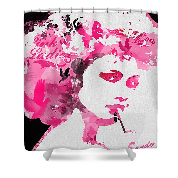 Sandy Shower Curtain