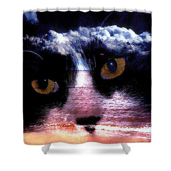 Sandy Paws Shower Curtain