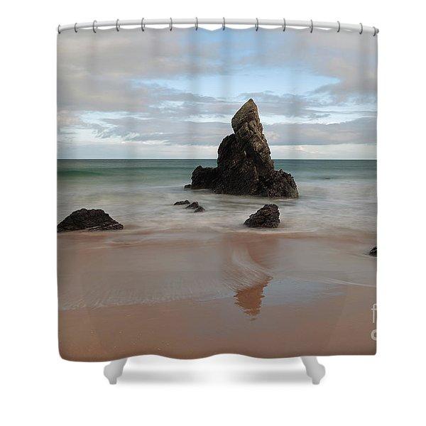 Sango Bay Shower Curtain
