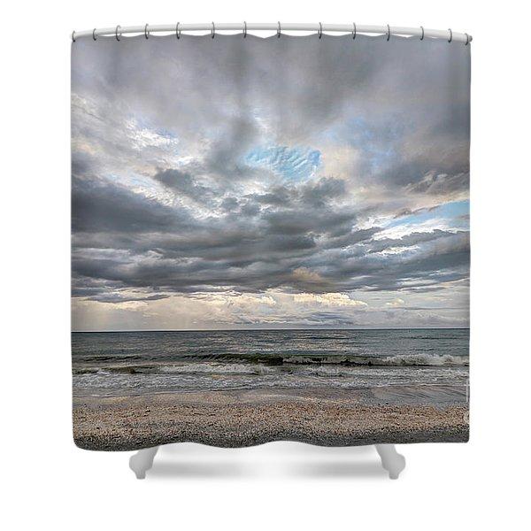Sanibel Island Seashells Shower Curtain