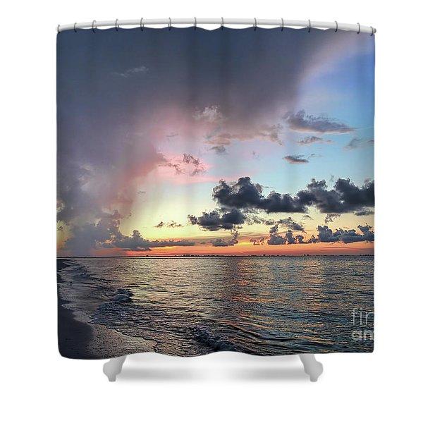 Sanibel Island Sunrise Shower Curtain