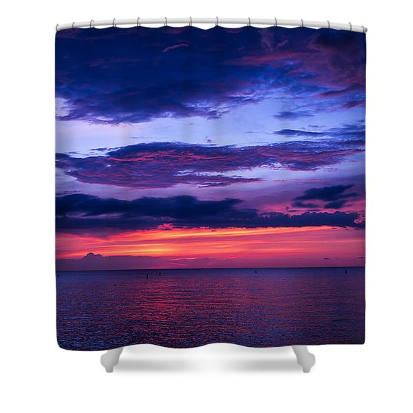 Sanibel Sunset Shower Curtain