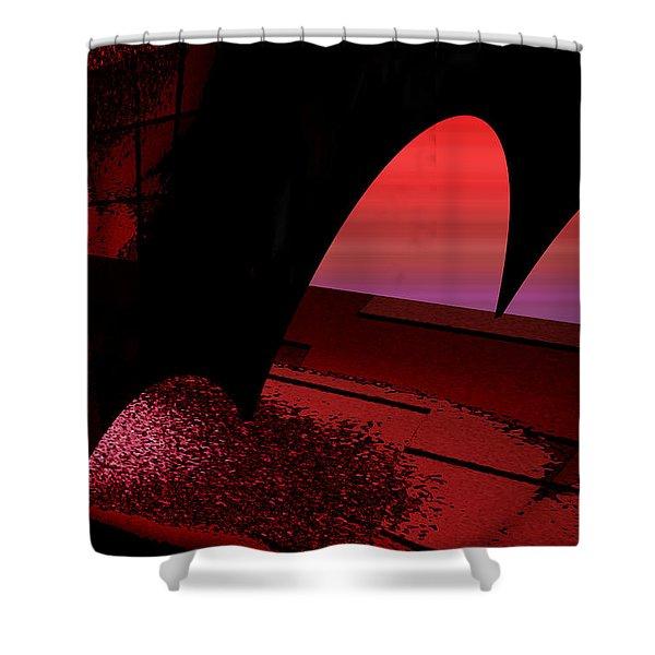 Shower Curtain featuring the digital art Sans Titre 1310 by Gerlinde Keating - Galleria GK Keating Associates Inc