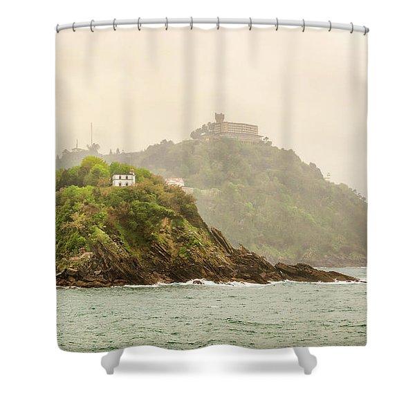 Santa Clara Island Shower Curtain
