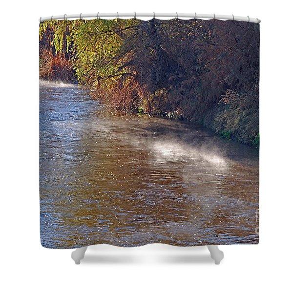 Santa Cruz River - Arizona Shower Curtain