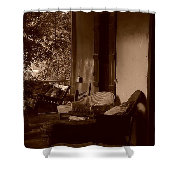 Santa Fe Porch Shower Curtain