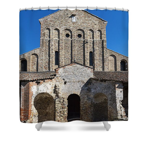 Santa Maria Assunta Shower Curtain