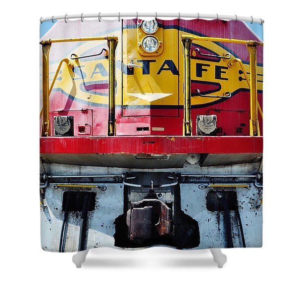 Sante Fe Railway Shower Curtain