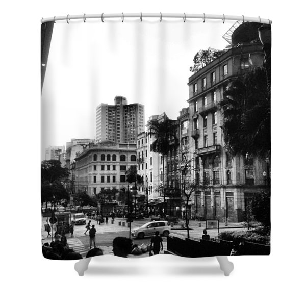 Sao Paulo Downtown #pracaantonioprado Shower Curtain