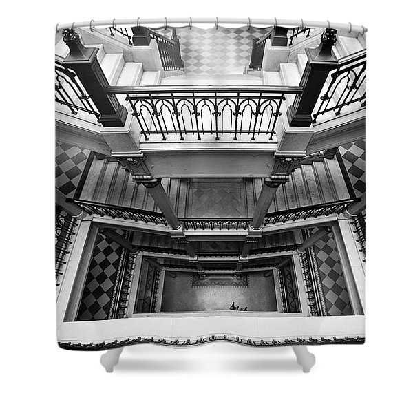 Sao Paulo - Gorgeous Staircases Shower Curtain