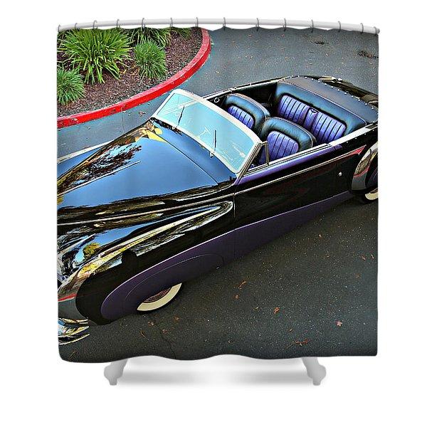 Saoutchik Cadillac 2 Shower Curtain