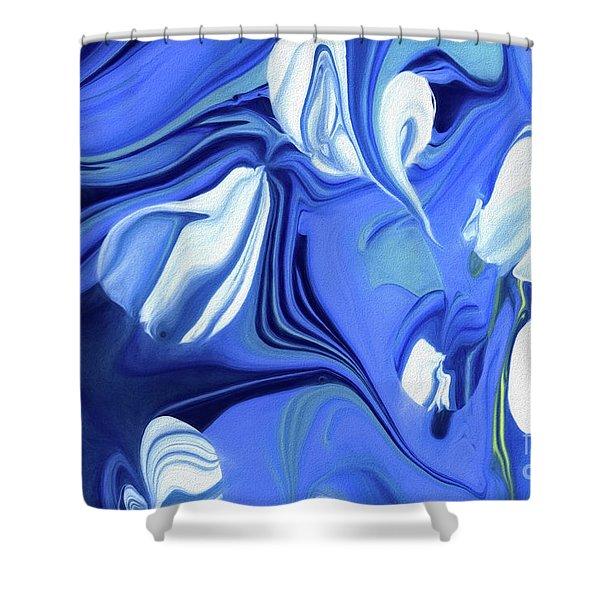 Sapphire Dreams Shower Curtain