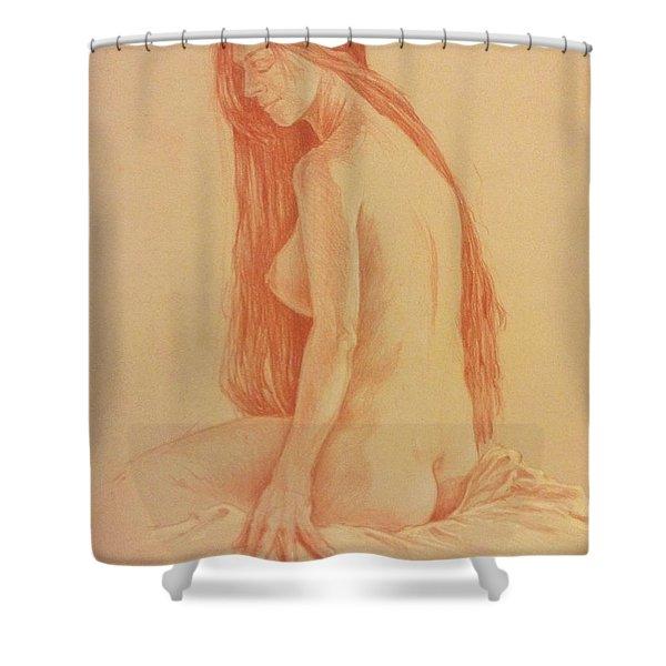 Sarah #2 Shower Curtain