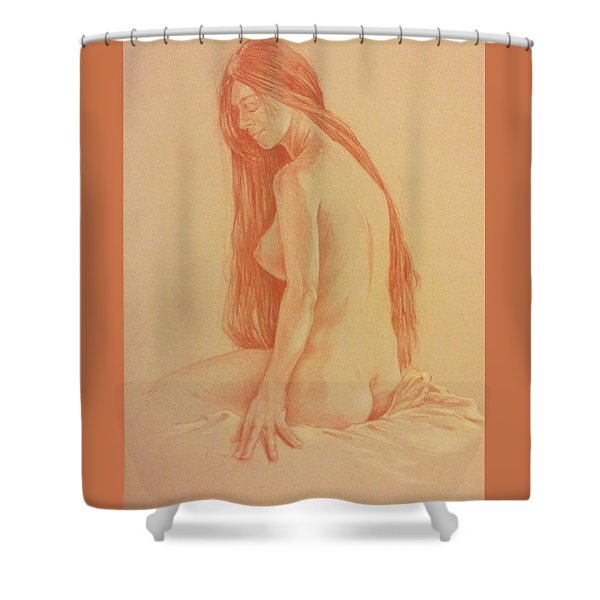 Sarah #2 Shower Curtain