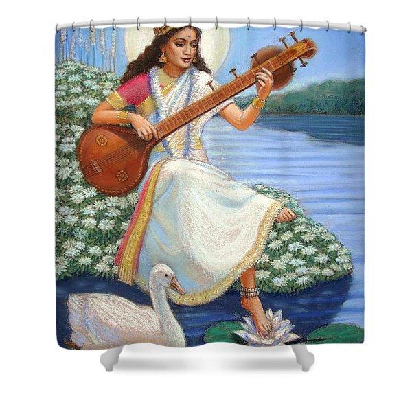 Sarasvati Shower Curtain