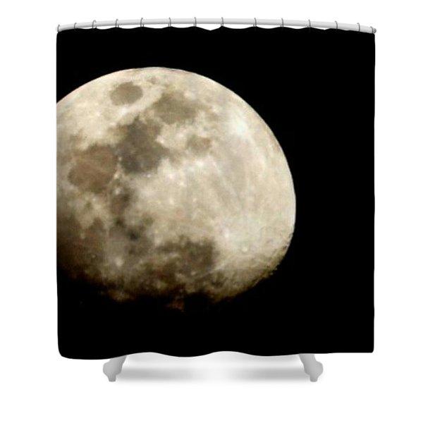 Satellite Serenade  Shower Curtain