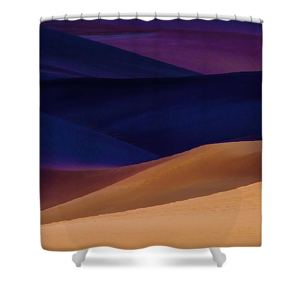 Saturation Shower Curtain