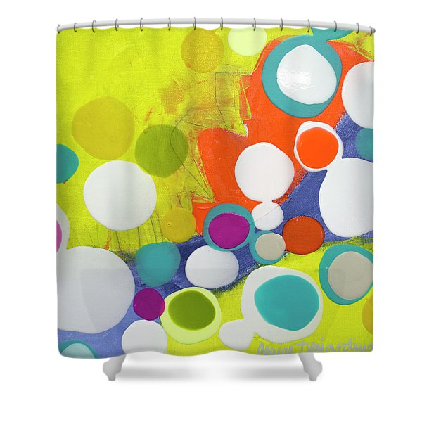 Saturday Surprise Shower Curtain