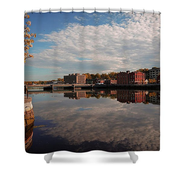 Shower Curtain featuring the photograph Saugatuck River - Westport by Michael Hope