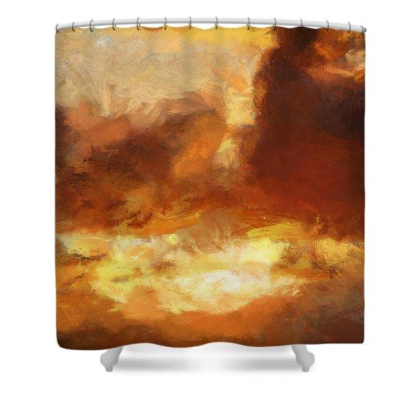 Saulriets Shower Curtain