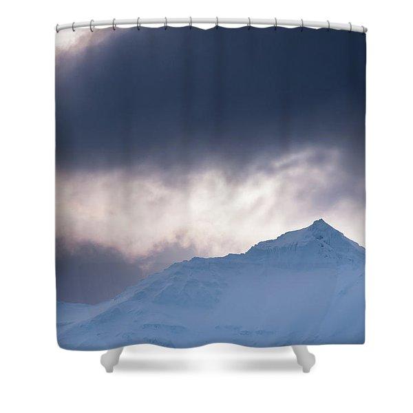 Savage Mountain Shower Curtain