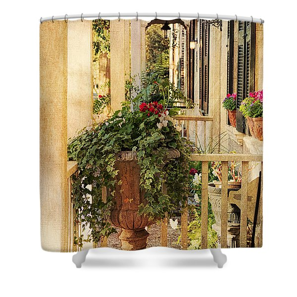 Savannah Porch Shower Curtain