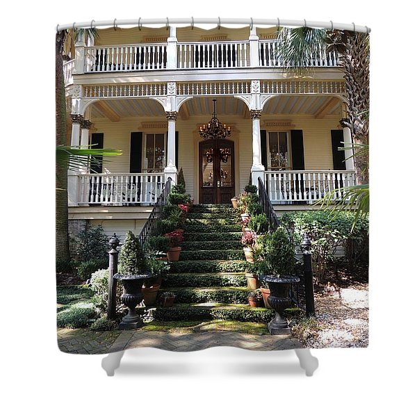 Southern Style Shower Curtain