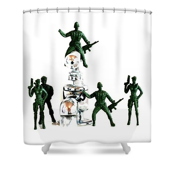 Save The Water Shower Curtain