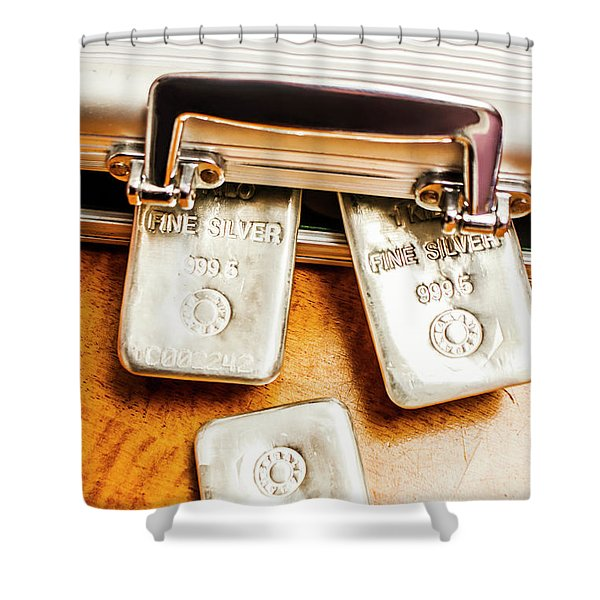 Saving For A Fiat Rainy Day Shower Curtain