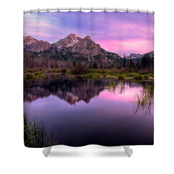 Sawtooth Reflections Shower Curtain
