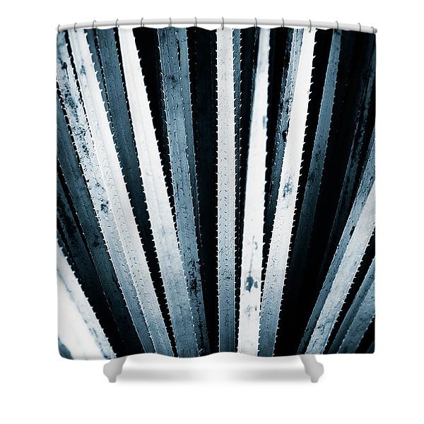 Sawtooth Shower Curtain