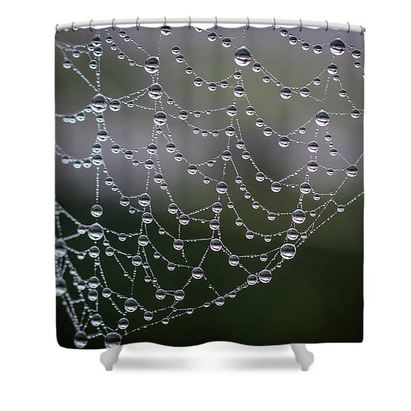 Say It With Pearls Shower Curtain