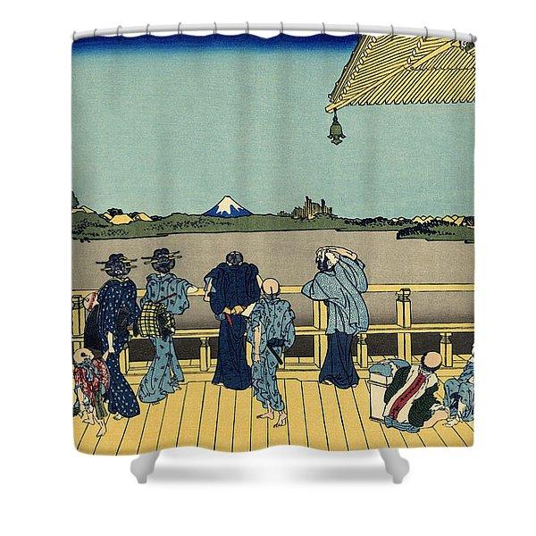 Sazai Hall Shower Curtain