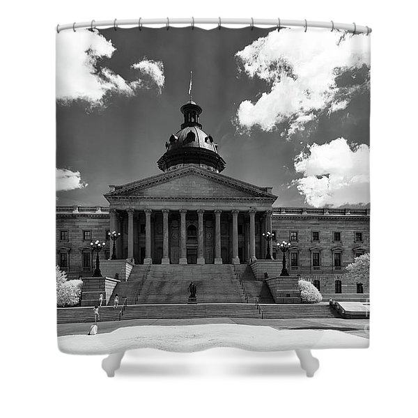 Sc State House - Ir Shower Curtain