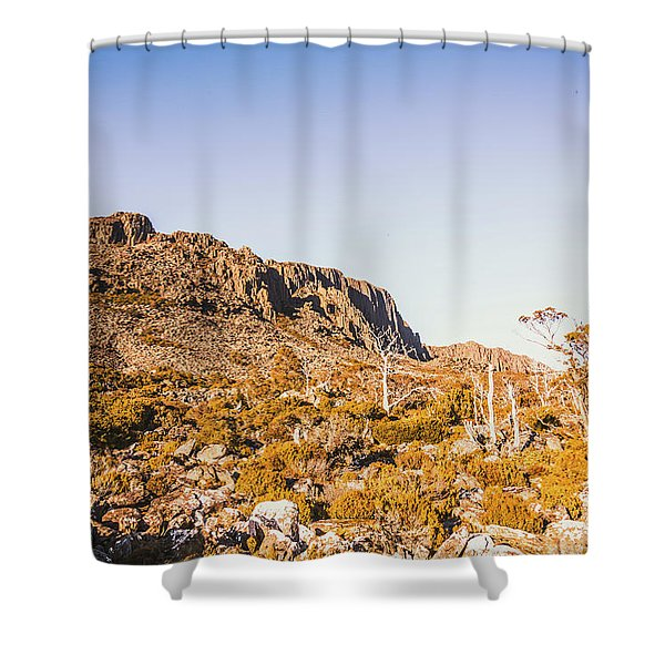 Scenic Barren Range Shower Curtain