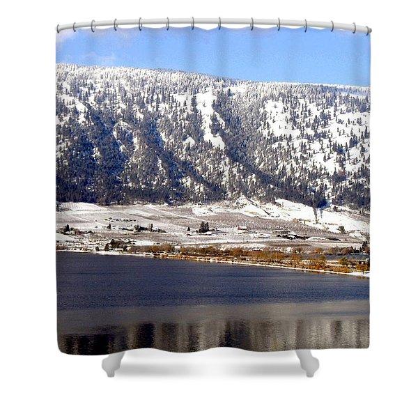 Scenic Oyama Shower Curtain