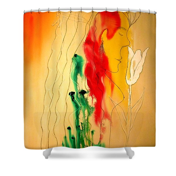 Scent Of An Orchid Shower Curtain