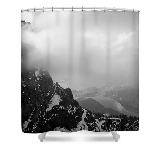 Schaffberg Cliff Face Shower Curtain