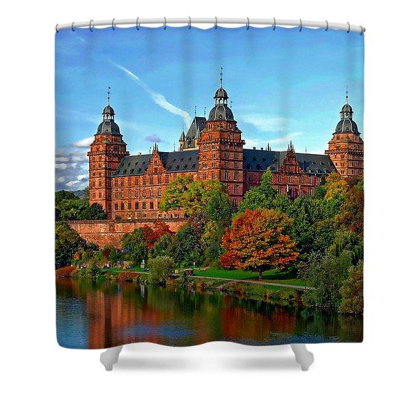 Schloss Johannisburg Shower Curtain