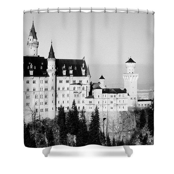 Schloss Neuschwanstein  Shower Curtain
