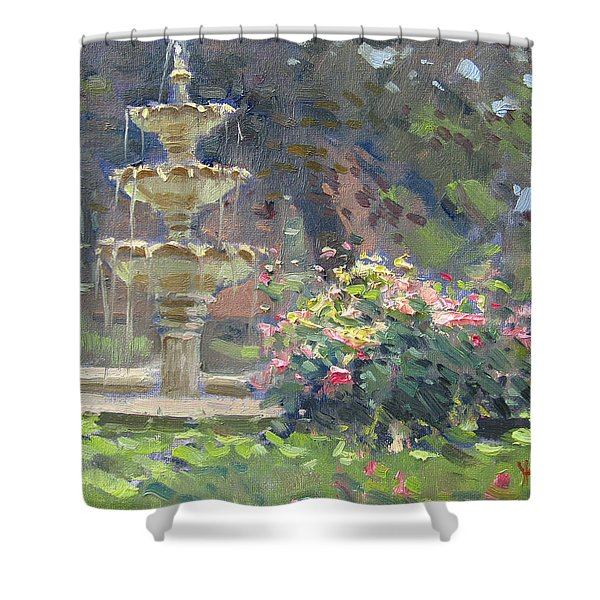 Schoellkopf Park Shower Curtain