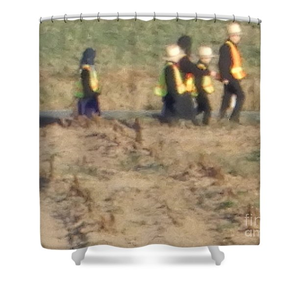 School Day Is Over Shower Curtain