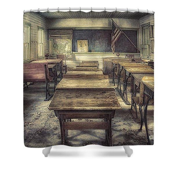 School Days Shower Curtain